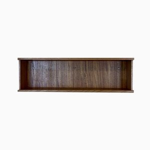 Vintage Danish Teak Wall Shelf