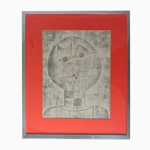 Original Cubist Framed Portrait