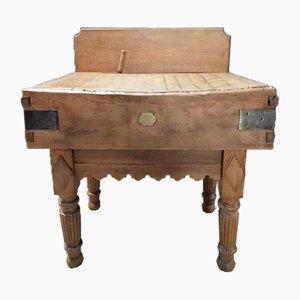 Mesa de carnicero pequeña, años 40