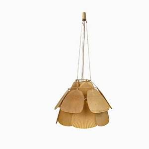 Uchiwa JU-KU Ceiling Lamp by Ingo Maurer for Design M, 1970s