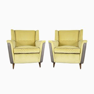 Model 809 Lounge Chairs by Figli de Amadeo Cassina for Cassina, 1950s, Set of 2