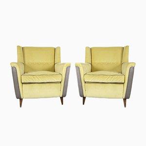 Modell 809 Lounge Chairs von Figli de Amadeo Cassina für Cassina, 1950er Jahre, 2er-Set
