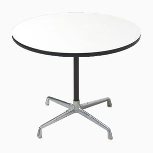 Mid-Century Round Dining Table by Charles & Ray Eames for Herman Miller