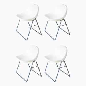 Chaises de Salon par Marco Zanuso pour Elam, 1969, Set de 4