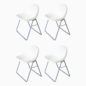 Dining Chairs by Marco Zanuso for Elam, 1969, Set of 4