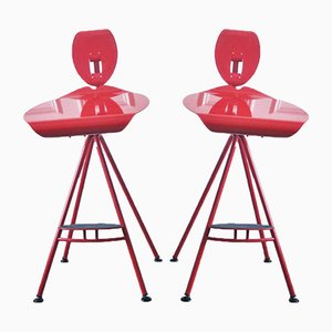 Miro Stools by Carlo Forcolini for Alias, 1989, Set of 2