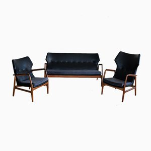 Living Room Set by Aksel Bender Madsen for Bovenkamp, 1960s, Set of 3