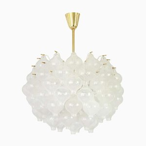 Large Tulipan Chandelier from Kalmar, 1960s