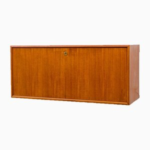 Teak Wall Secretaire, 1960s
