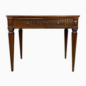 Louis XVI Walnut Desk, 1780s