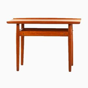 Vintage Danish Teak Side Table by Grete Jalk for Glostrup Furniture, 1960s