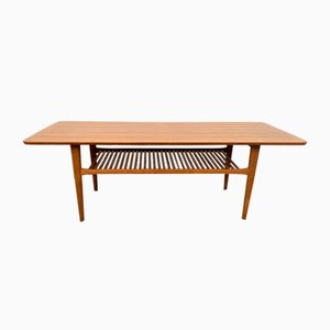 Teak Coffee Table, Denmark, 1960s