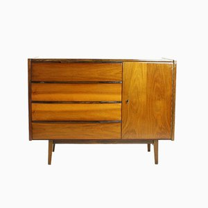 Mahogany Sideboard from Interior Prague, Czechoslovakia, 1970s