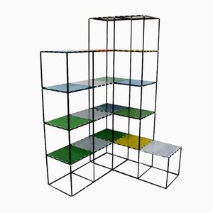 Abstracta System Regal von Poul Cadovius, 1960er