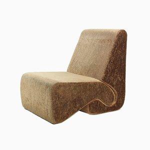 Velvet Lounge Chairs von Ivan Matusik, Tschechoslowakei, 1970er Jahre