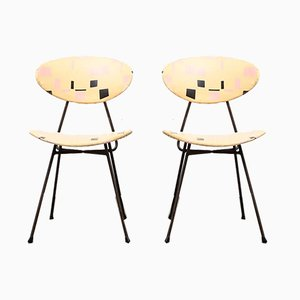 Staatsmijnen Dining Chairs by Rob Parry for Gelderland, 1950s, Set of 2