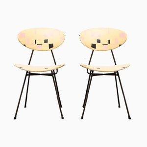 Staatsmijnen Dining Chairs von Rob Parry für Gelderland, 1950er Jahre, 2er-Set