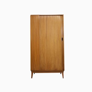 Teak Rolltür Kleiderschrank von Austinsuite, 1960er