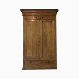 Large French 19th-Century Walnut Armoire