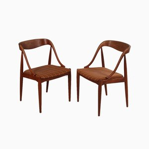 Dining Chairs by Johannes Andersen for Uldum Møbelfabrik, 1950s, Set of 2