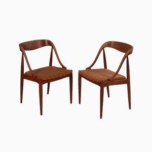 Esszimmerstühle von Johannes Andersen für Uldum Møbelfabrik, 1950er, 2er Set