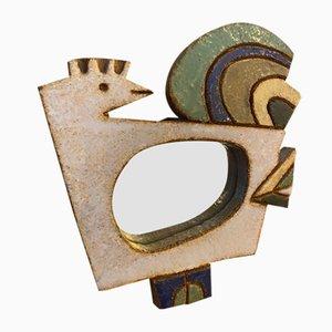 Der Keramikspiegel der Argonauten, Frankreich, 1960er Jahre