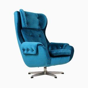 Swivel Lounge Chair from UP Zavody Rousinov, 1970s
