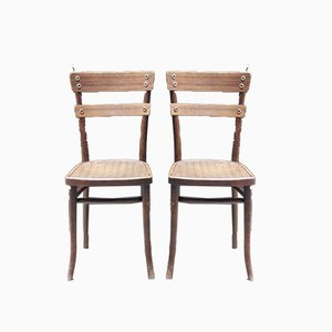 Antique Side Chairs by Michael Thonet, Set of 2