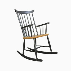 Mid-Century Rocking Chair by Ilmari Tapiovaara