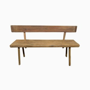 French 19th-Century Bench
