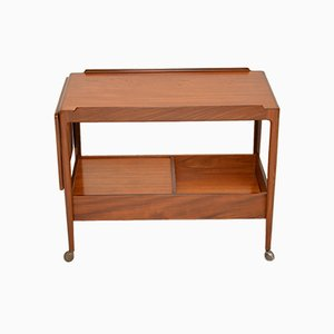 Danish Teak Drinks Trolley by Ib Kofod Larsen for G-Plan, 1960s