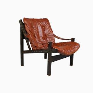 Hunter Lounge Chair von Torbjørn Afdal für Bruksbo, 1960er Jahre