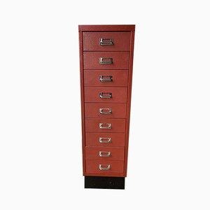 Vintage Metal Industrial Metal Filing Cabinet