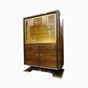 Französisches Art Deco Bücherregal von Jacques-Emile Ruhlmann