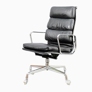 Mid-Century EA 219 Swivel Chair by Charles & Ray Eames for Vitra