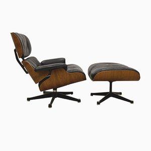 Sessel mit Fußhocker von Ray & Charles Eames für Fehlbaum von Herman Miller, 1960er, 2er Set