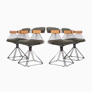 Delta Dining Chairs by Rudi Verelst for Novalux, 1971, Set of 4