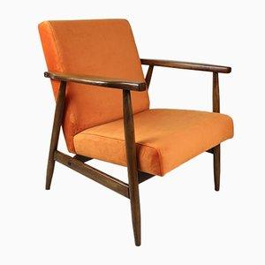 Vintage Orange Sessel, 1970er Jahre,