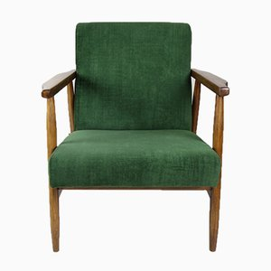 Vintage Green Chameleon Easy Chair, 1970s,