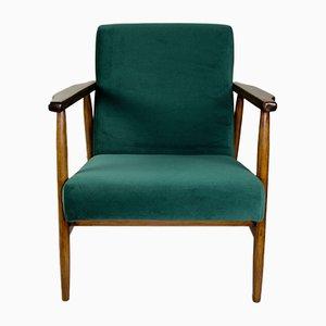 Grüner Vintage Sessel, 1970er