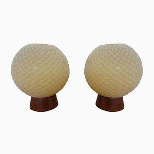 Schweizer Tischlampen von Temde, 1960er, 2er Set