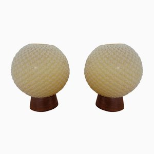 Swiss Table Lamps from Temde, 1960s, Set of 2