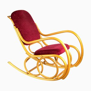 Mid-Century Bentwood Rocking Chair from Ton, 1960s