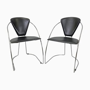 Vintage Stühle, 1980er Jahre, 2er Set