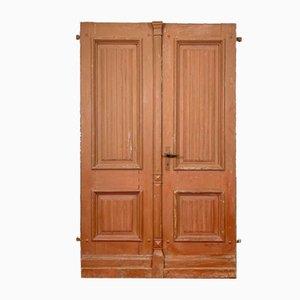 Antique Doors, 1850s, Set of 2