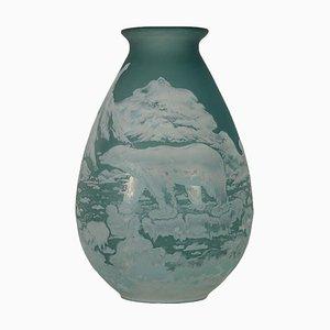 Vase im Stil von Gallé