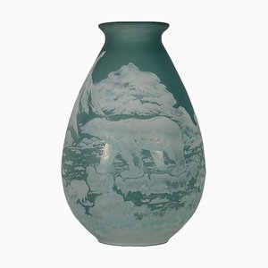 Vase in the Style of Gallé