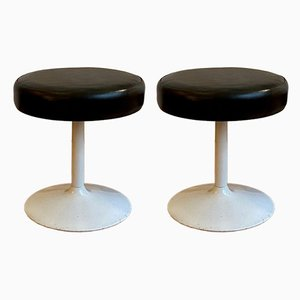 Mid-Century Hocker, 2er Set