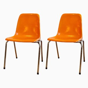 Stack Chairs, 1970s, Set of 2