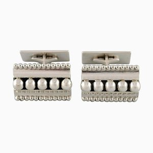John Lauritzen, Copenhagen, A Pair of Art Deco Style Cufflinks